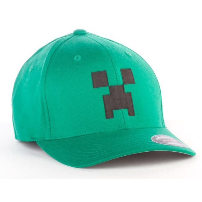 Baseball cap Minecraft Green   DVD Zone Shop ea9bc4a83f
