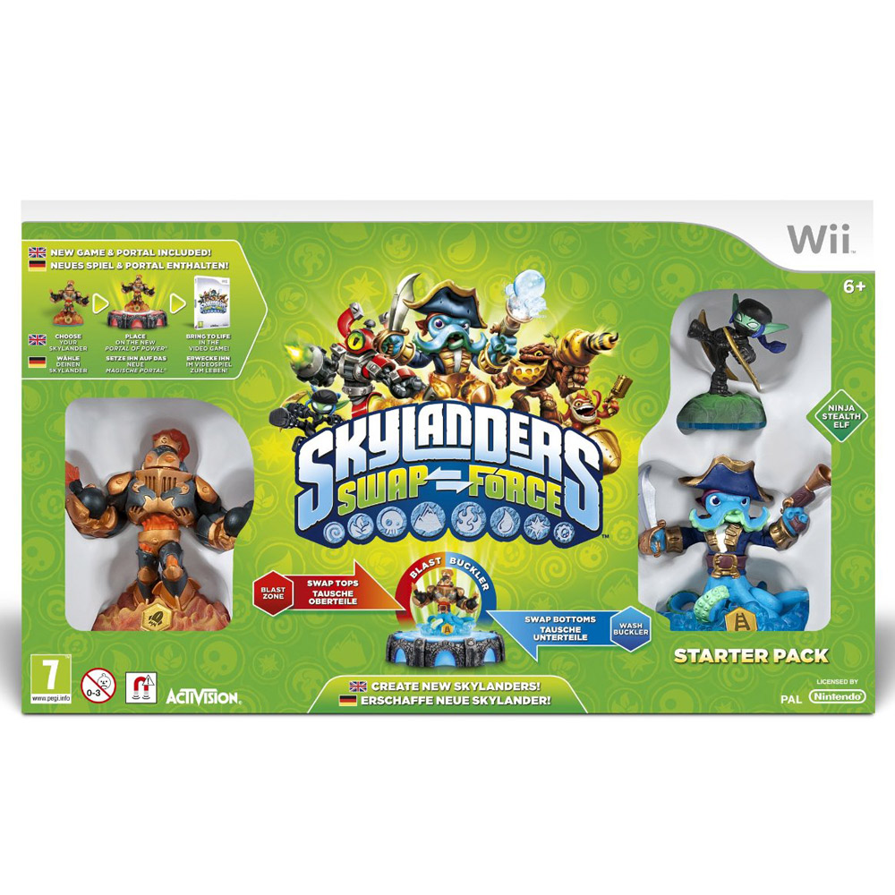 Skylanders Swap Force Starter Pack Wii Dvd Zone Shop